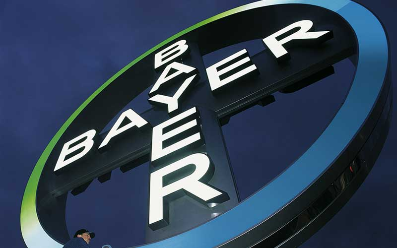 Bayer Firmenlogo