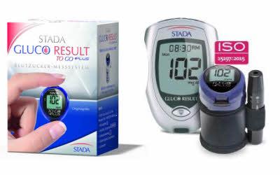 Stada Gluco Result Blutzuckermessgeräte