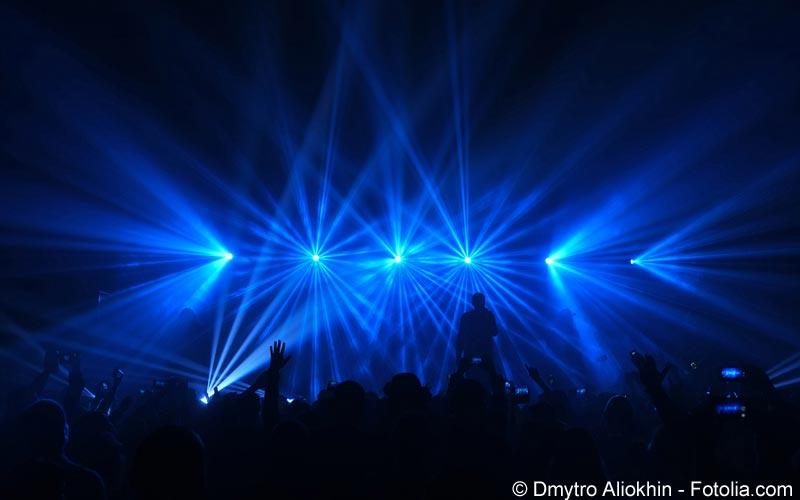 Lightshow Konzert