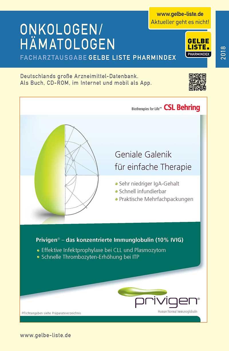 Buch für Onkologen und Haematologen