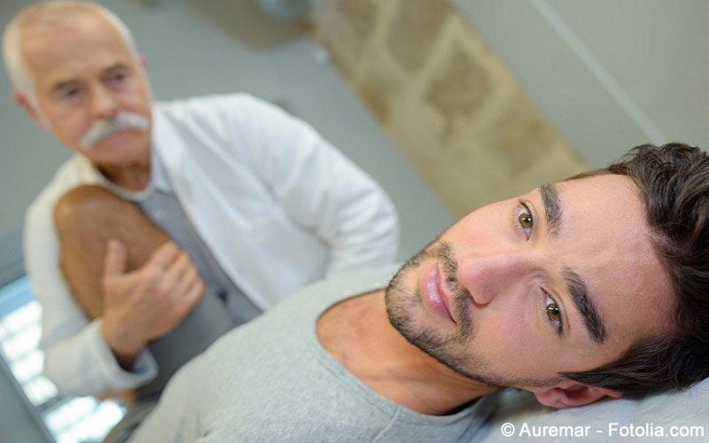 Diagnostik bei Rueckenschmerzen