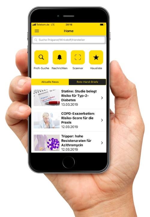 Gelbe Liste Pharmindex App