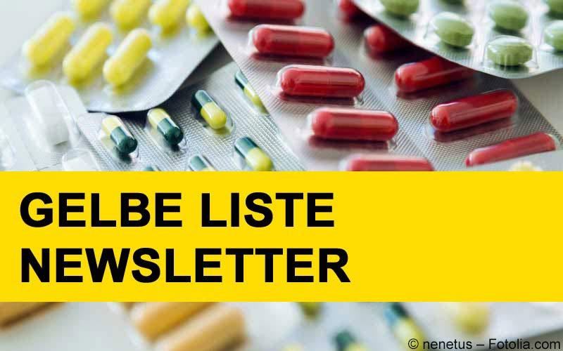 Gelbe Liste Newsletter