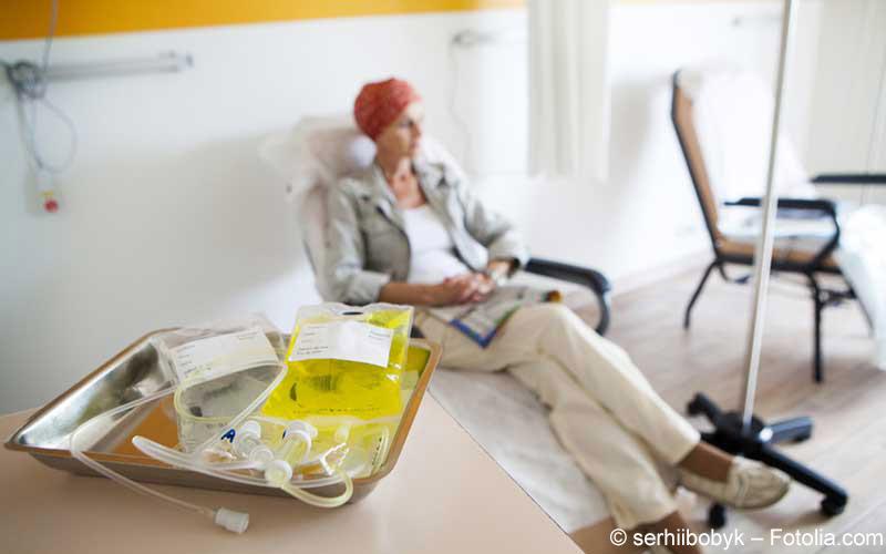 Chemotherapie Frau