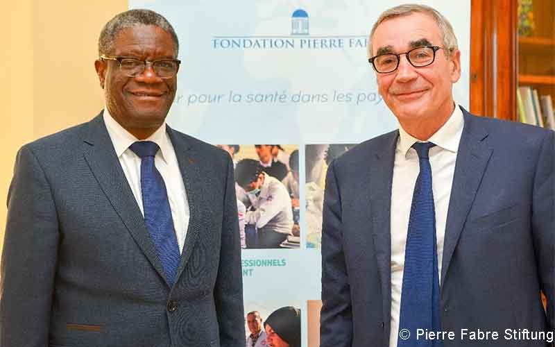 Pierre Fabre Stifung Mukwege
