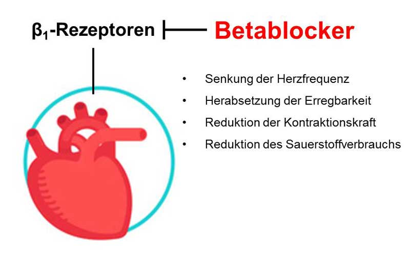 Betablocker Anwendung