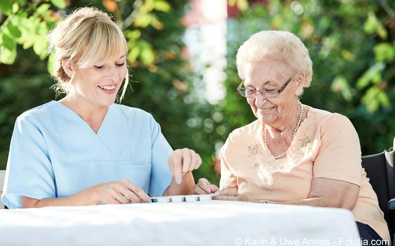 Polymedikation Senioren
