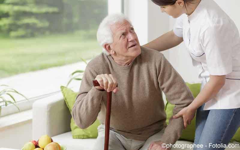 Schmerzen aelterer Patient